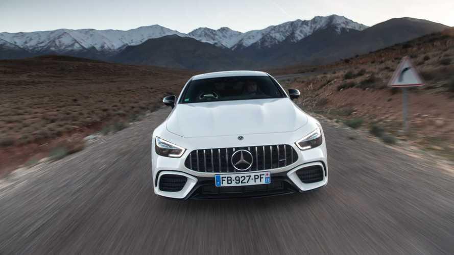 Essai Mercedes-AMG GT Coupé 4 portes 63 S - 300 km/h, OKLM