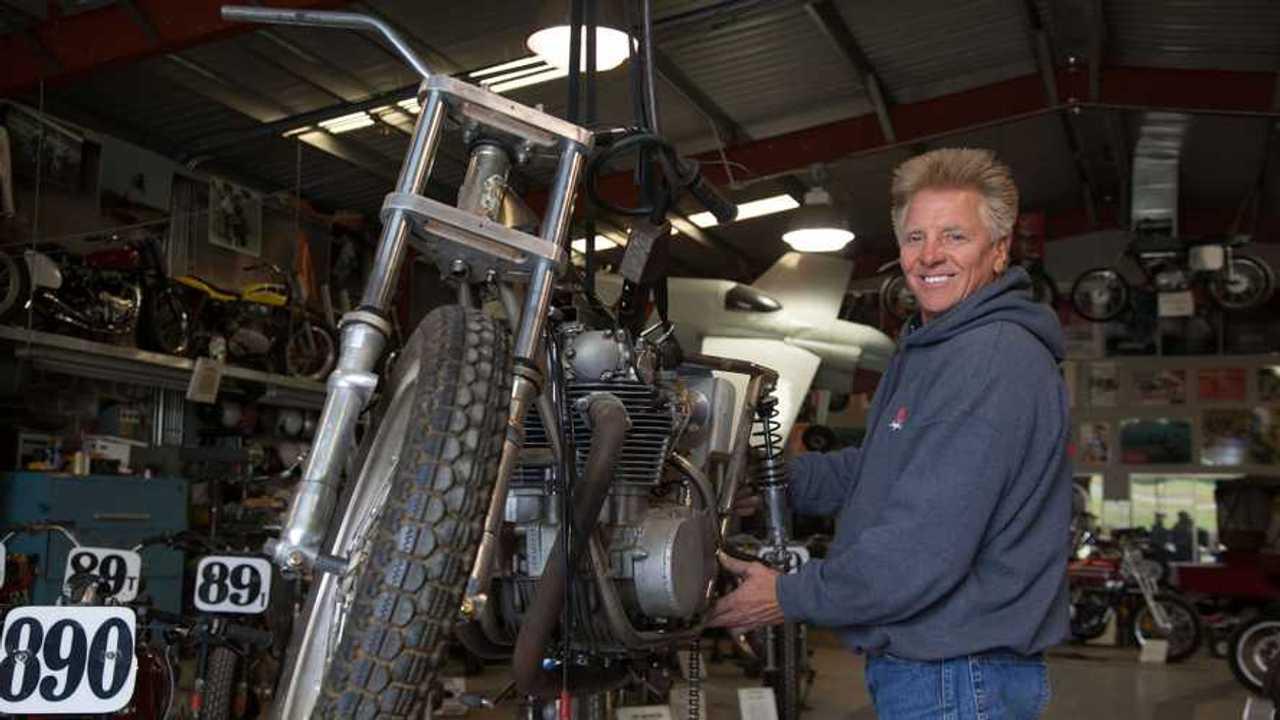 Gary Davis Works in his shop