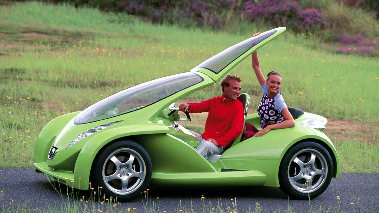 Peugeot Vroomster Concept 2000