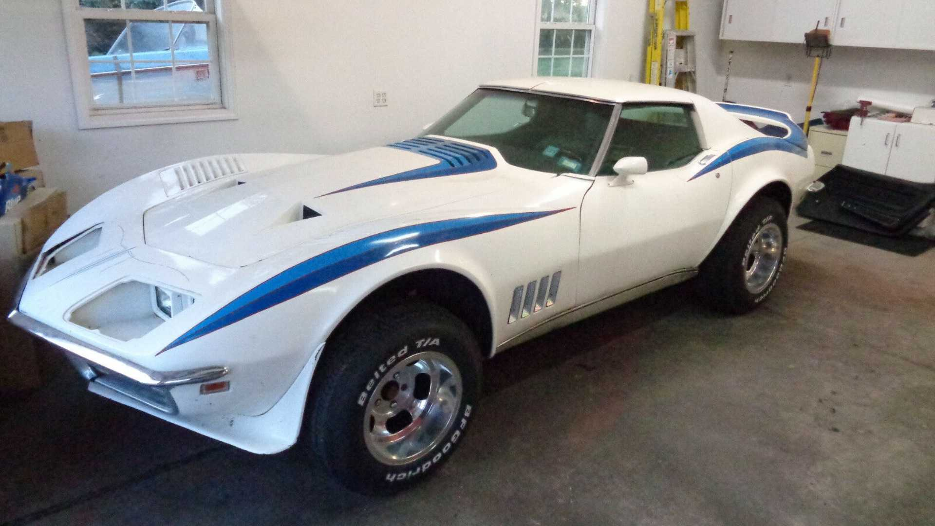 "[""Rare 1968 Motion Phase III GT Corvette Stored Since 1987""]"