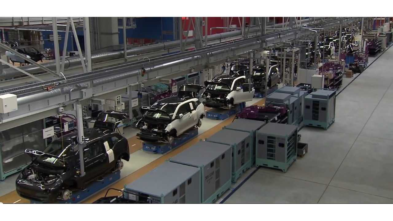 At 70 Units Per Day, BMW i3 Production Is Not At