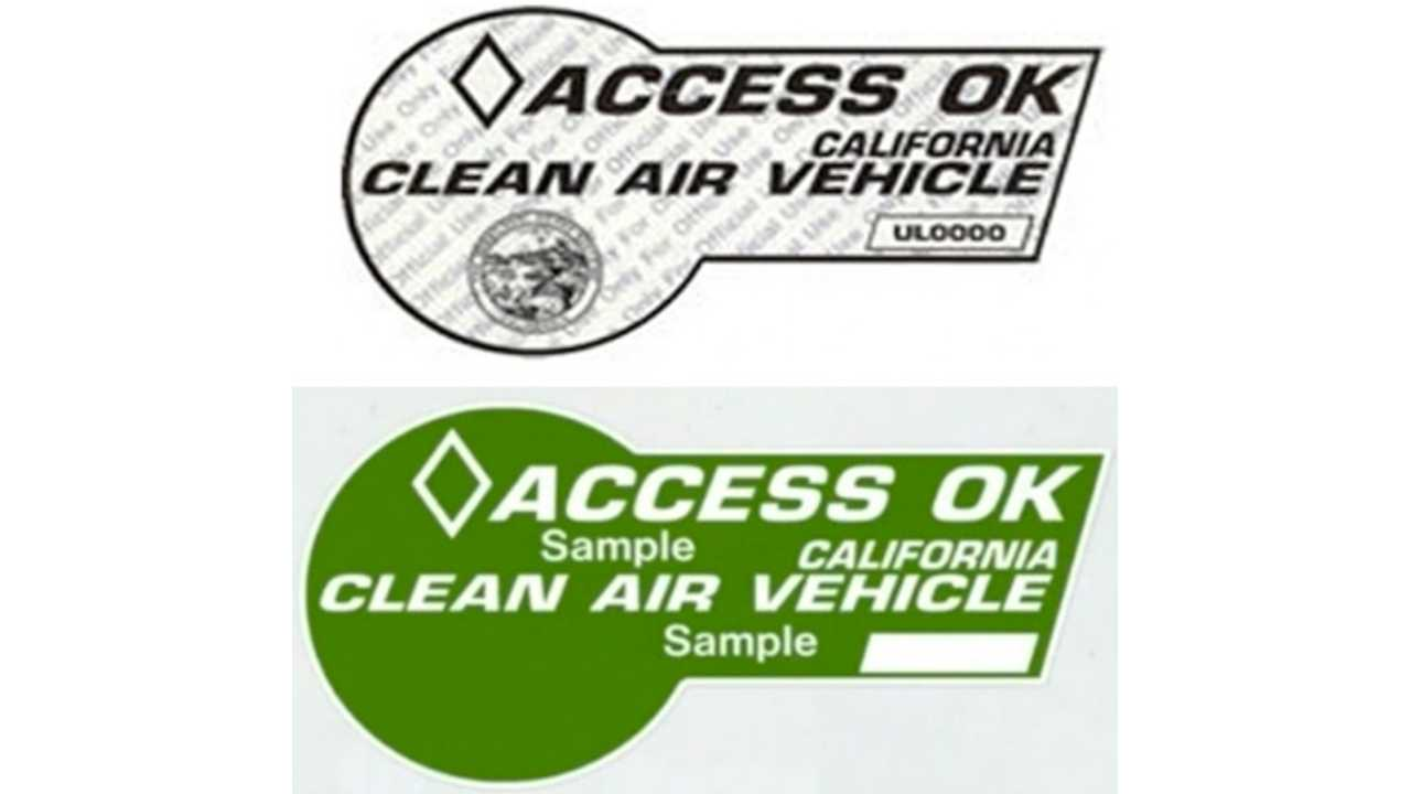 Green or White? Which HOV Sticker will the BMW i3 Get in California?