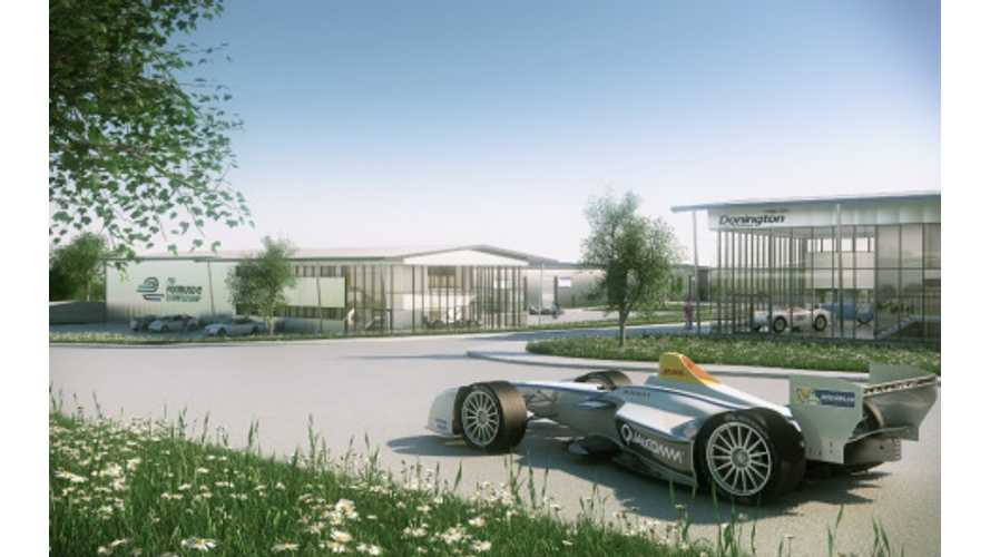 Formula E Selects Donington Park in the UK as Site For Headquarters / Team Facilities