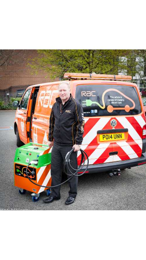 RAC Launches First Mobile Electric Vehicle Charging Unit in UK