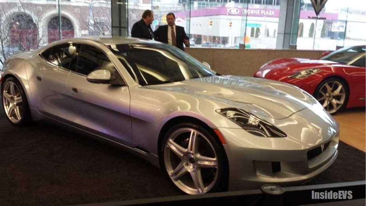 VL Automotive Wheels Out Re-Badged 639 HP Fisker Karma at 2014 Detroit Auto Show