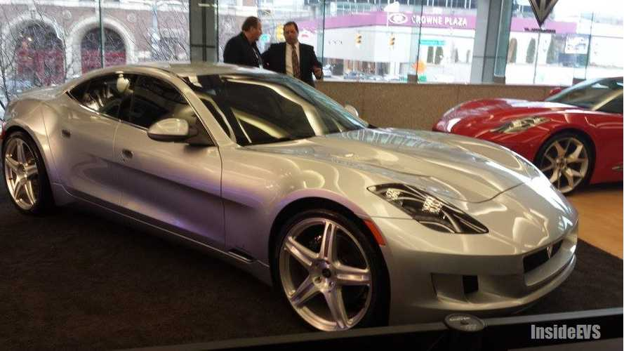 VL Automotive Wheels Out Re-Badged 639 HP Fisker Karma at 2014 Detroit Auto Show