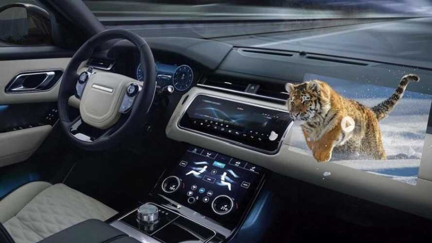 Jaguar e Land Rover lavorano agli head up display in 3D