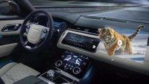 jaguar land rover head up display 3d