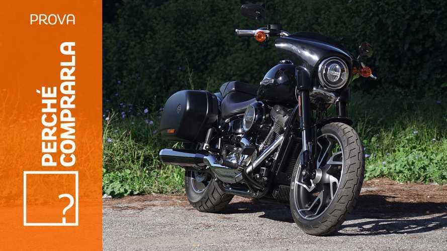 Harley-Davidson Sport Glide | Perché comprarla... E perché no