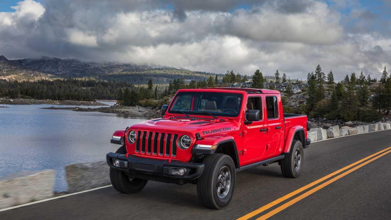 2020 Jeep Gladiatore Rubicon