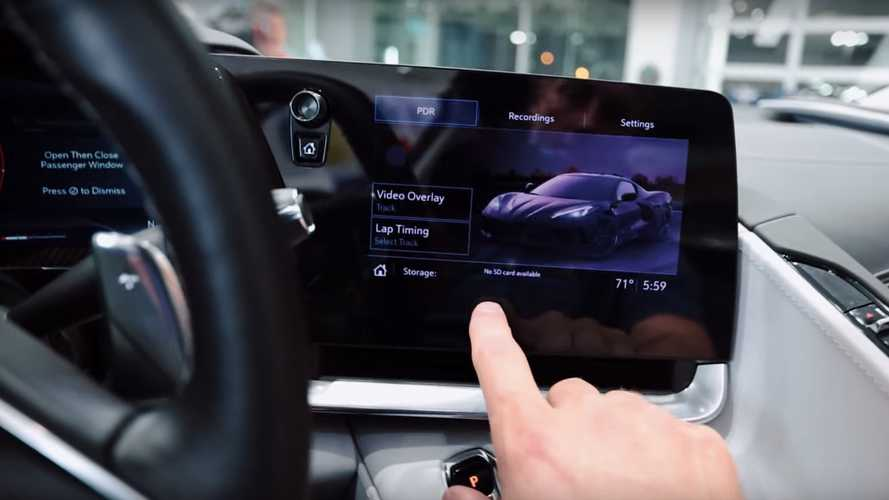 Here's The Lowdown On The Corvette C8's Infotainment System