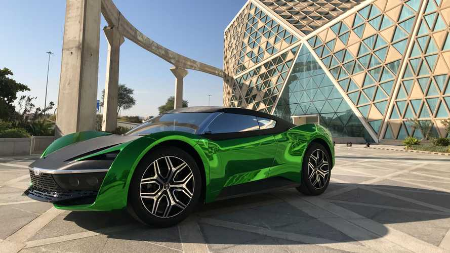 Supercar Blondie Takes GFG Style's 2030 Saudi Arabia Car For A Spin