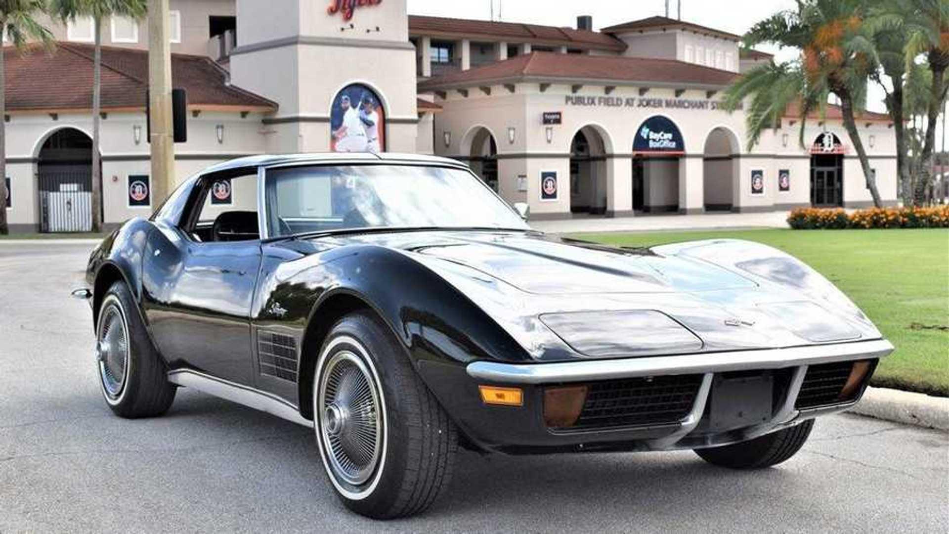 """[""""Bid On This Stunning Numbers-Matching 1972 Chevy Corvette""""]"""