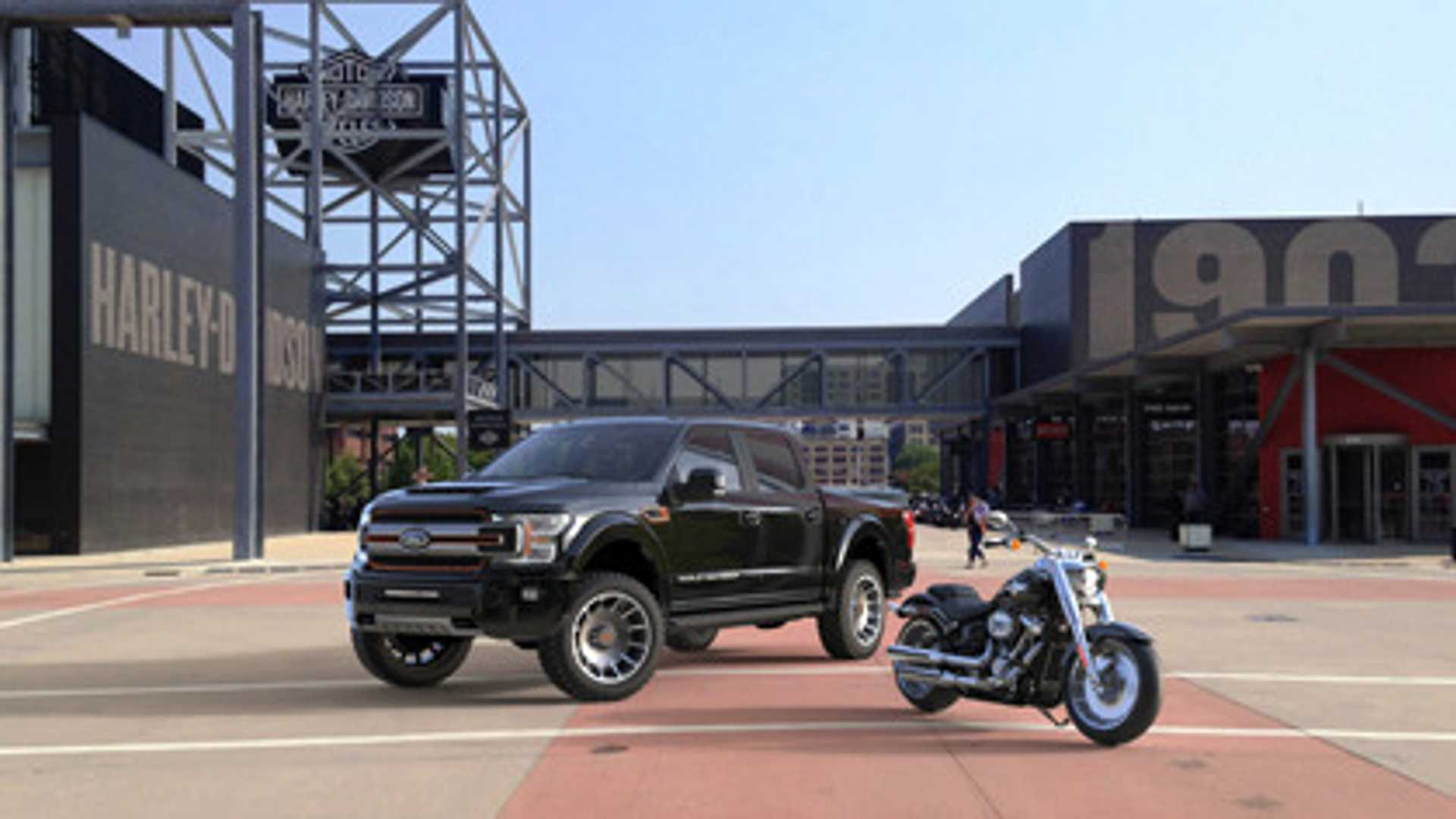 "[""Get A Free Supercharger With A New Harley-Davidson Ford F-150""]"