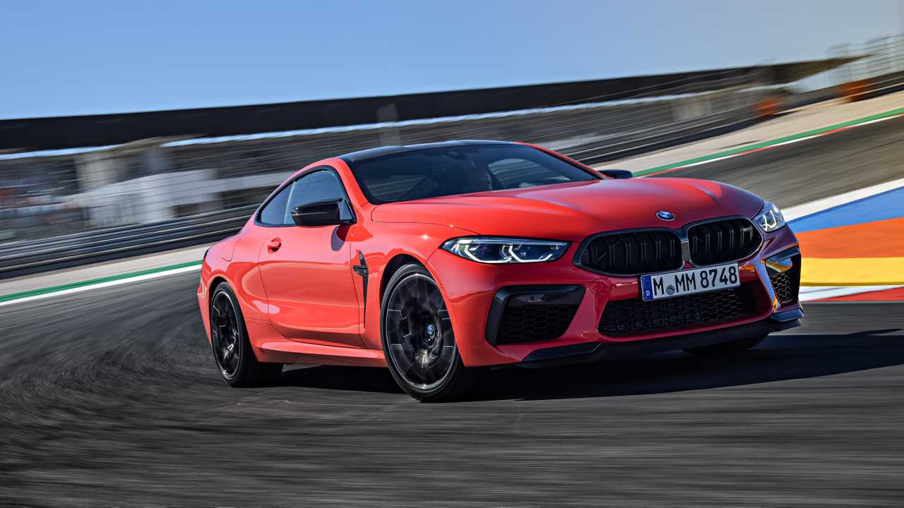 Test BMW M8 Competition
