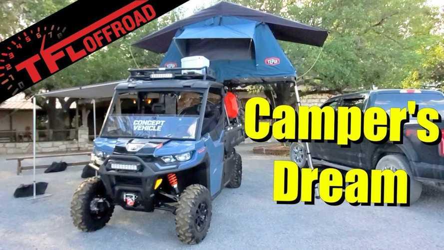 Can-Am Defender Pro Concept: seguramente, el camper más pequeño