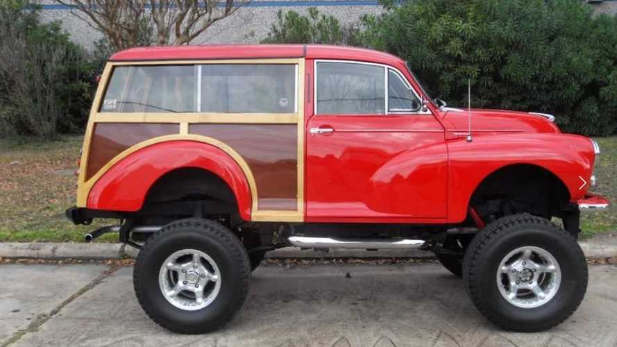 This 1960 Morris Minor Traveler Woodie Wagon Is Ready For New Adventures