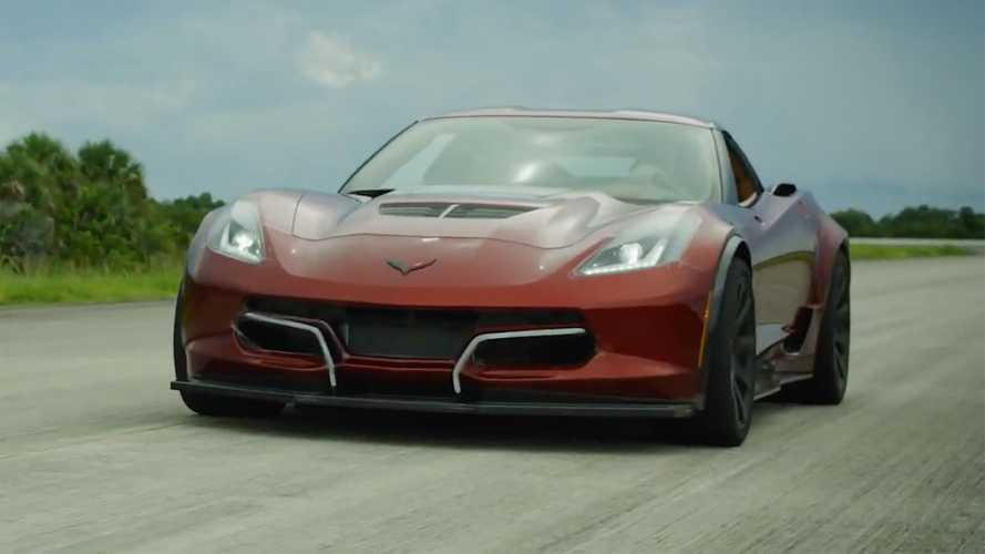 Genovation GXE, The 800-HP Electric Corvette, Sets New Speed Record