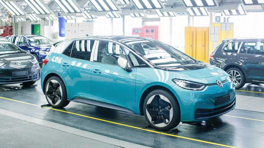 Volkswagen ID.3/4 Production In Zwickau Increased To Over 800 A Day
