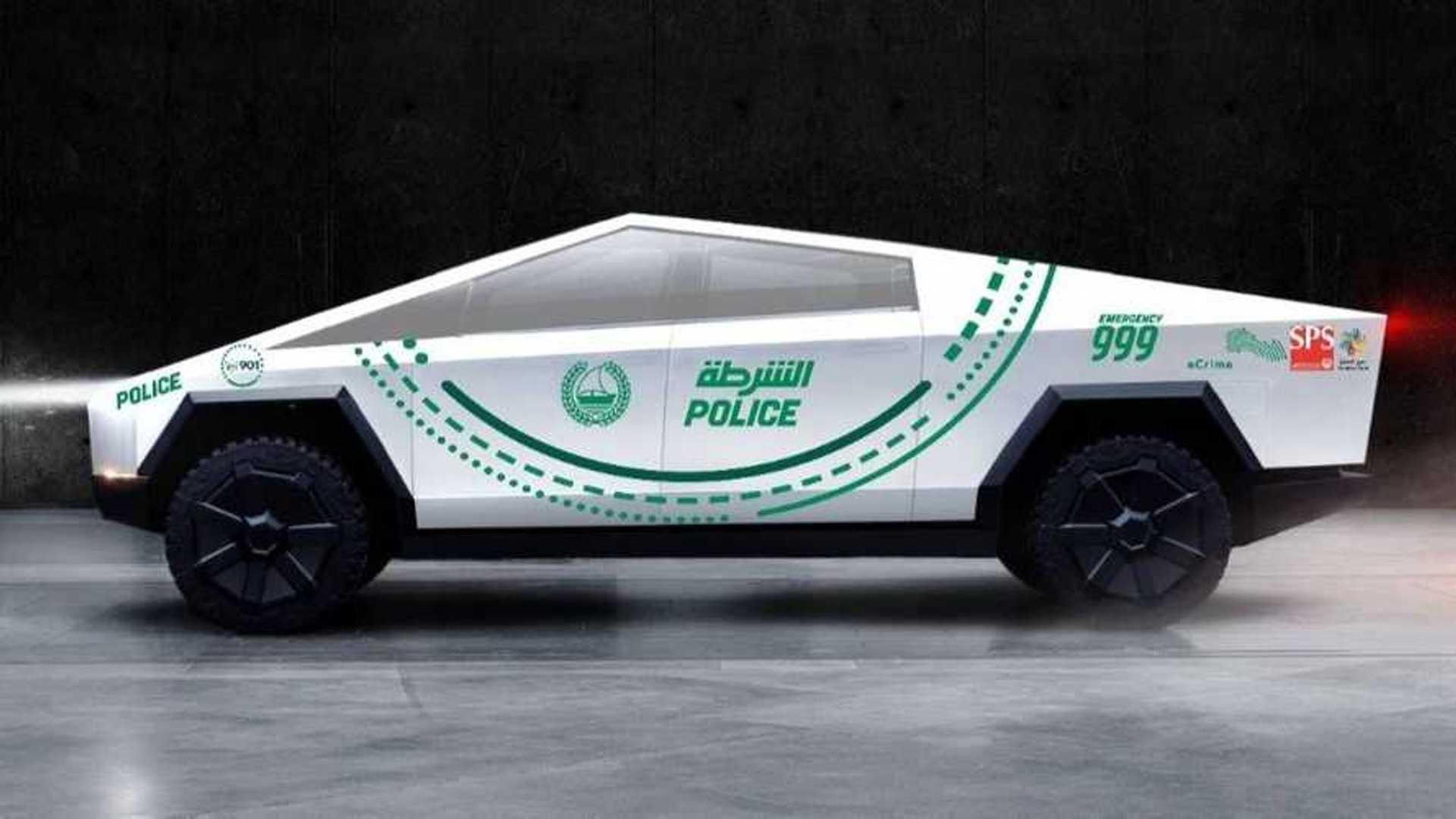 Tesla Cybertruck To Join Dubai Police Force