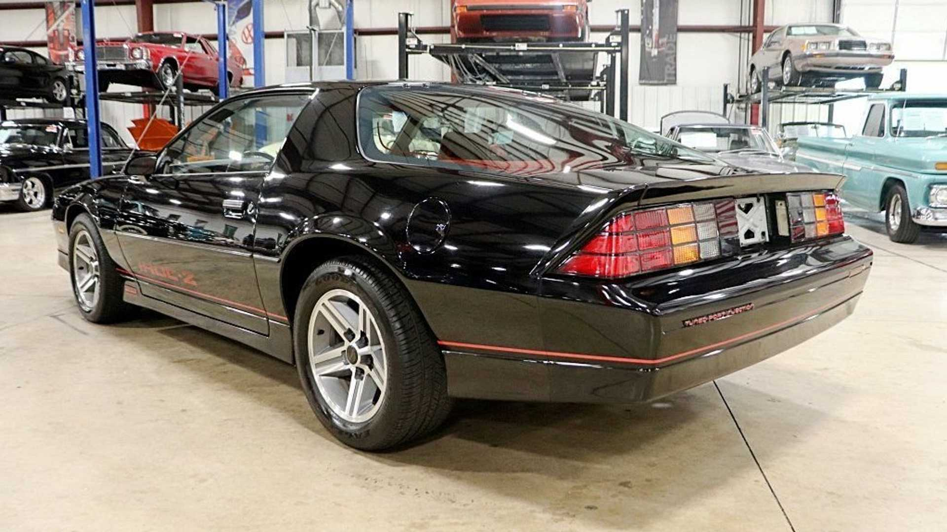 """[""""Low-Mileage 1985 Chevy Camaro IROC Z/28 Up For Grabs""""]"""