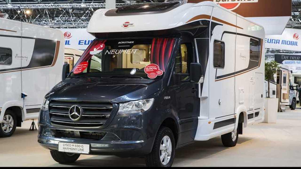 Mercedes-Benz Sprinter al Caravan Salon di Düsseldorf