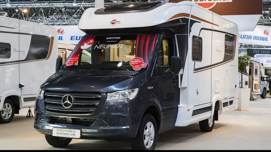 Mercedes-Benz Sprinter al Caravan Salon di Dusseldorf