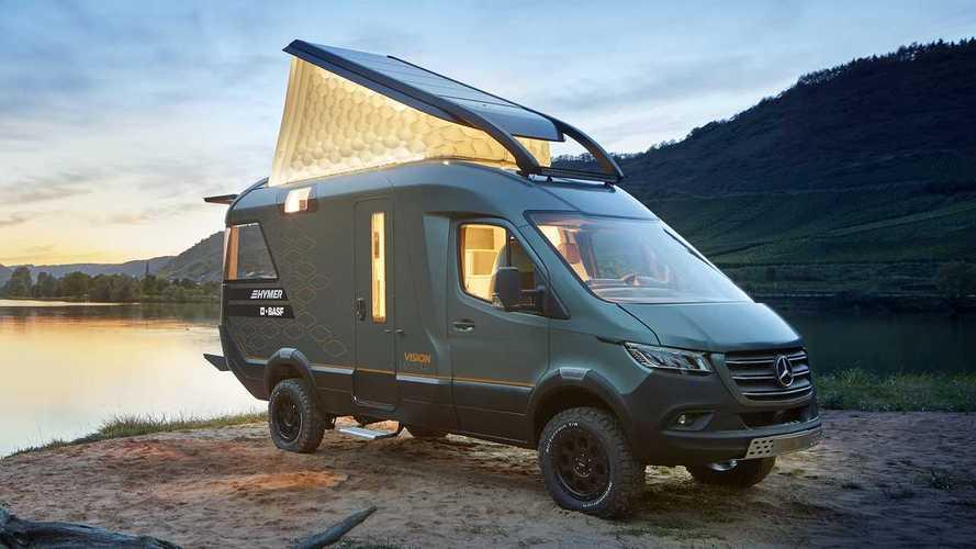 Hymer präsentiert Studie VisionVenture auf Mercedes-Sprinter-Basis