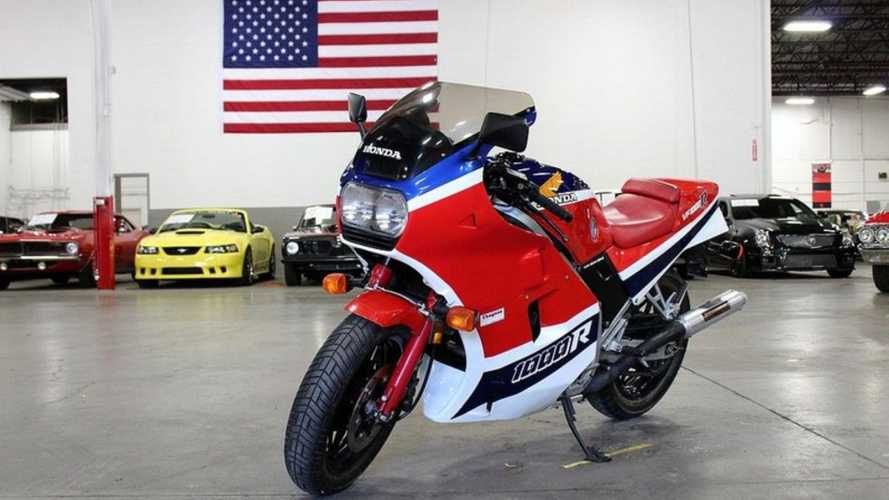 Could You Handle Two Honda VF1000R Sportbikes?