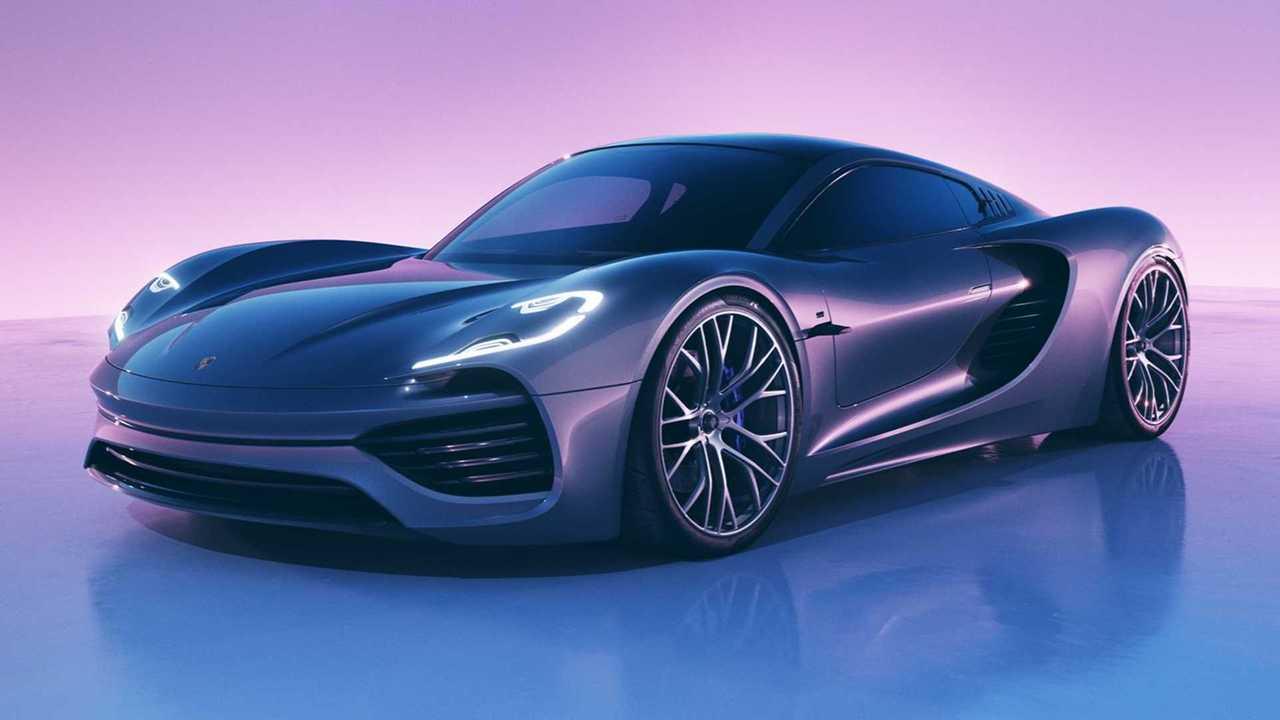 Porsche 988 Vision concept rendering lead image