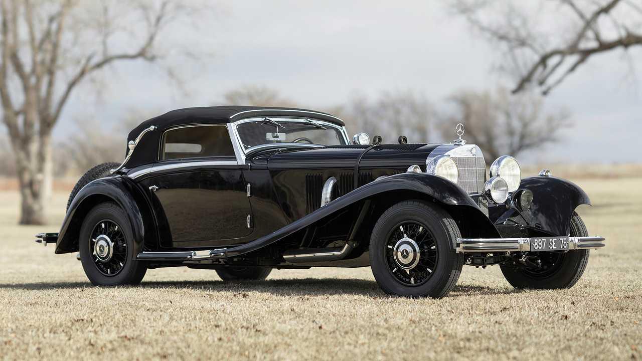 Mercedes 500 K Cabriolet A (1935) - 2,7 миллиона евро