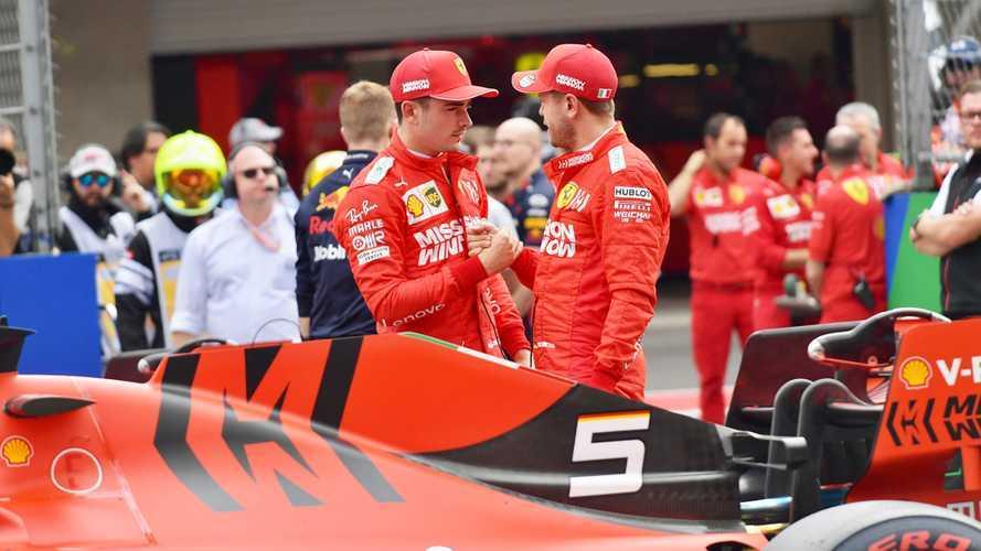 Ferrari F1: fra Vettel e Leclerc chiarimento in conference call