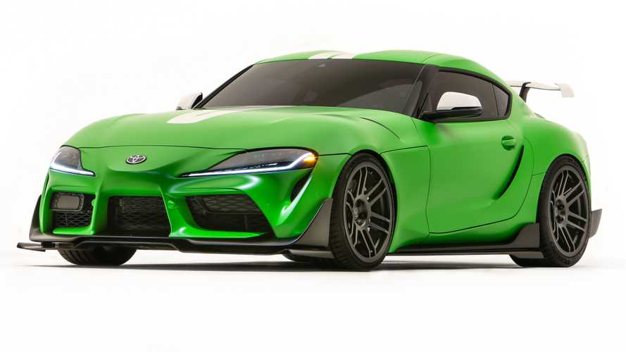 Toyota Supra Wasabi Concept Debuts Spicy Look At SEMA