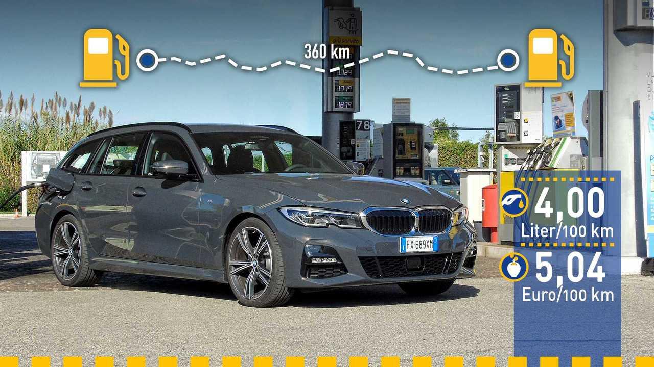 BMW 3er Touring im Verbrauchstest (2019)