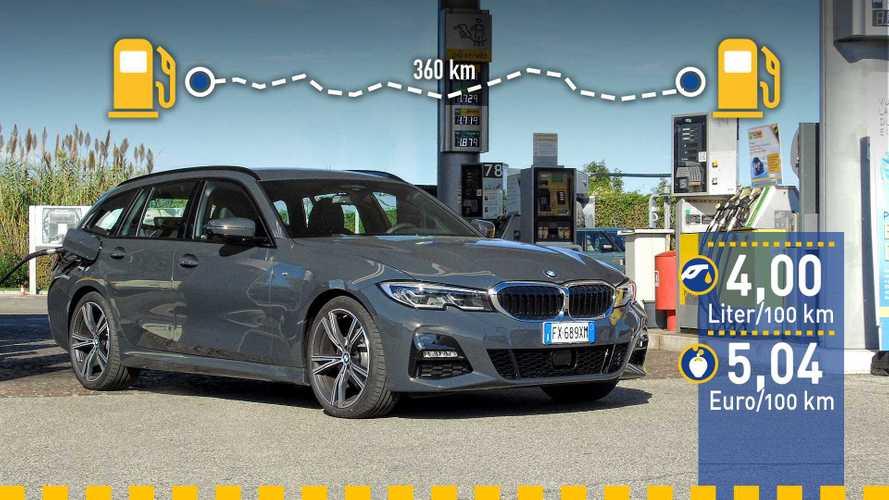 Tatsächlicher Verbrauch: BMW 320d Touring im Test