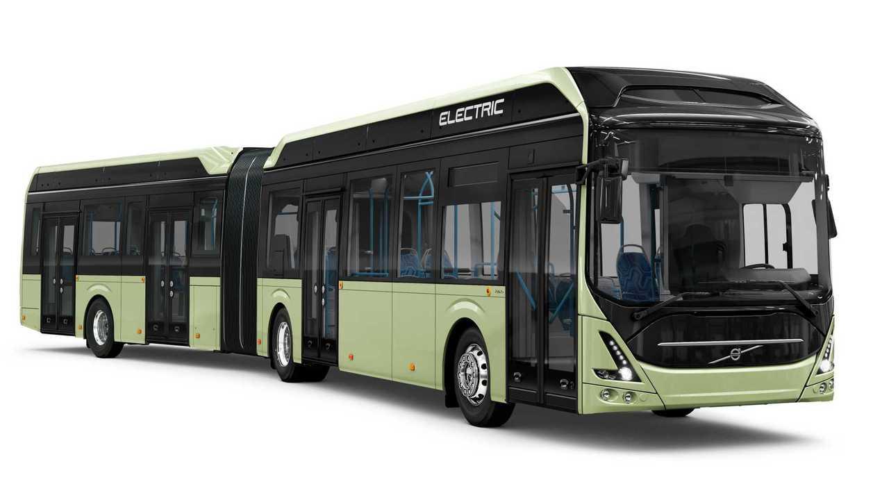 Volvo 7900 EA (Elektro-Gelenkbus)