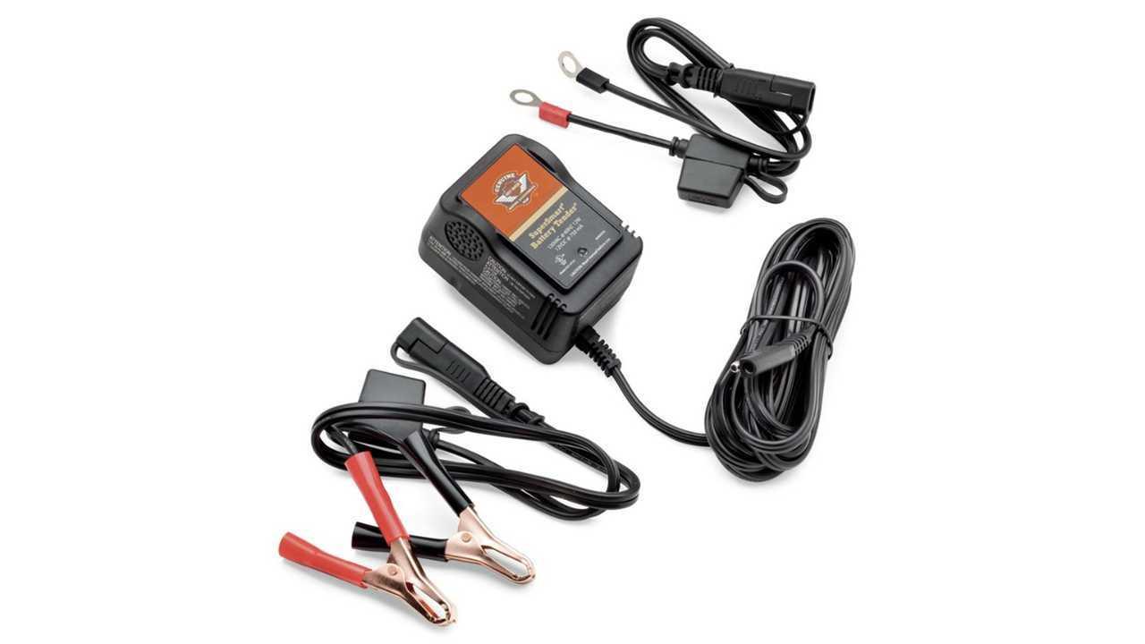 Harley-Davidson SuperSmart Battery Charger - $39.95