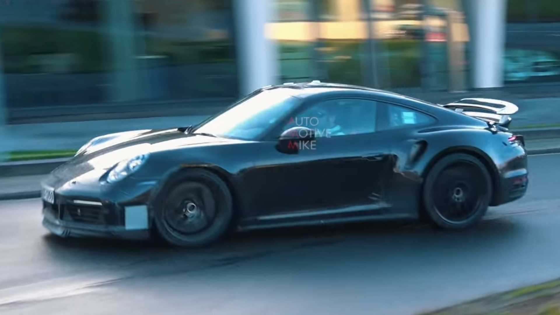 Watch And Listen Porsche 911 Turbo Prototypes Devour The 'Ring