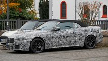 bmw m4 convertible spied close