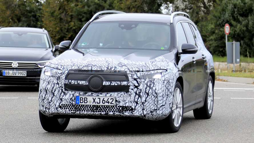 Mercedes EQB Returns In New Spy Photos