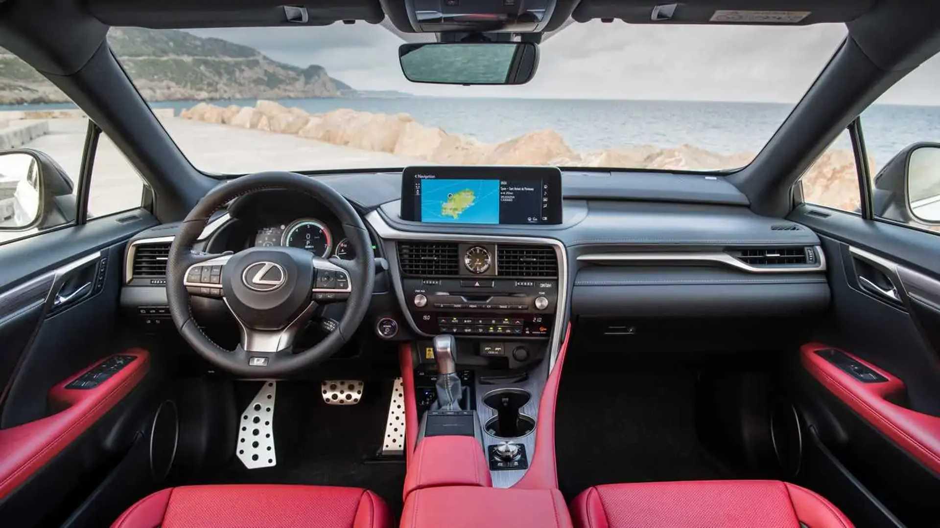2020 Lexus Rx 350 F Sport Suv Wallpaper