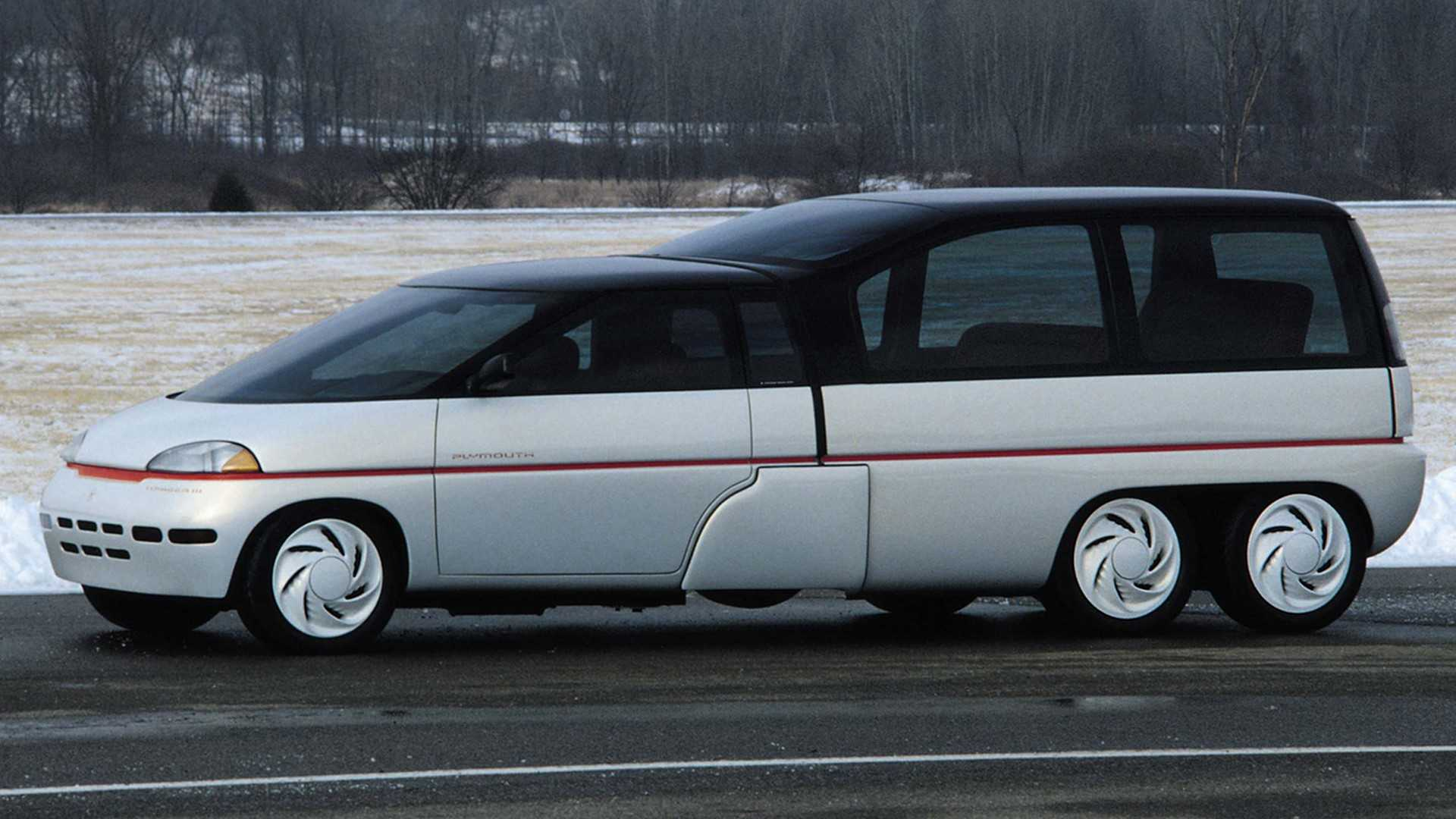 Concept Oublié - Plymouth Voyager III (1989)