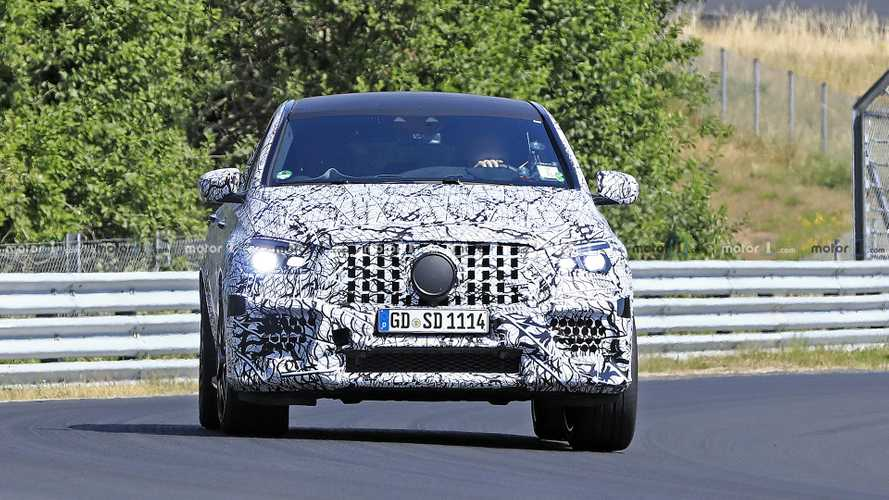 Mercedes-AMG GLE 63 Coupe spy photos