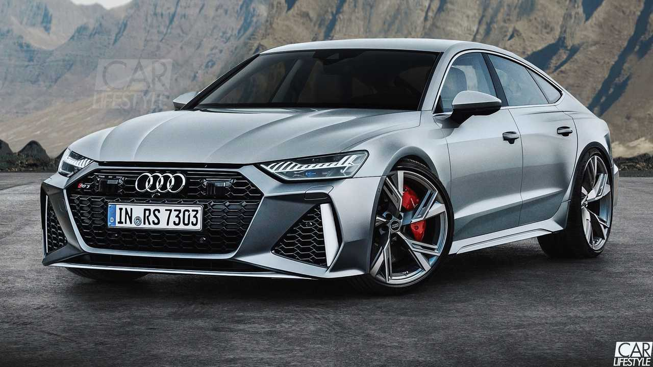 Audi RS7 Rendering RS6 Avant Styling