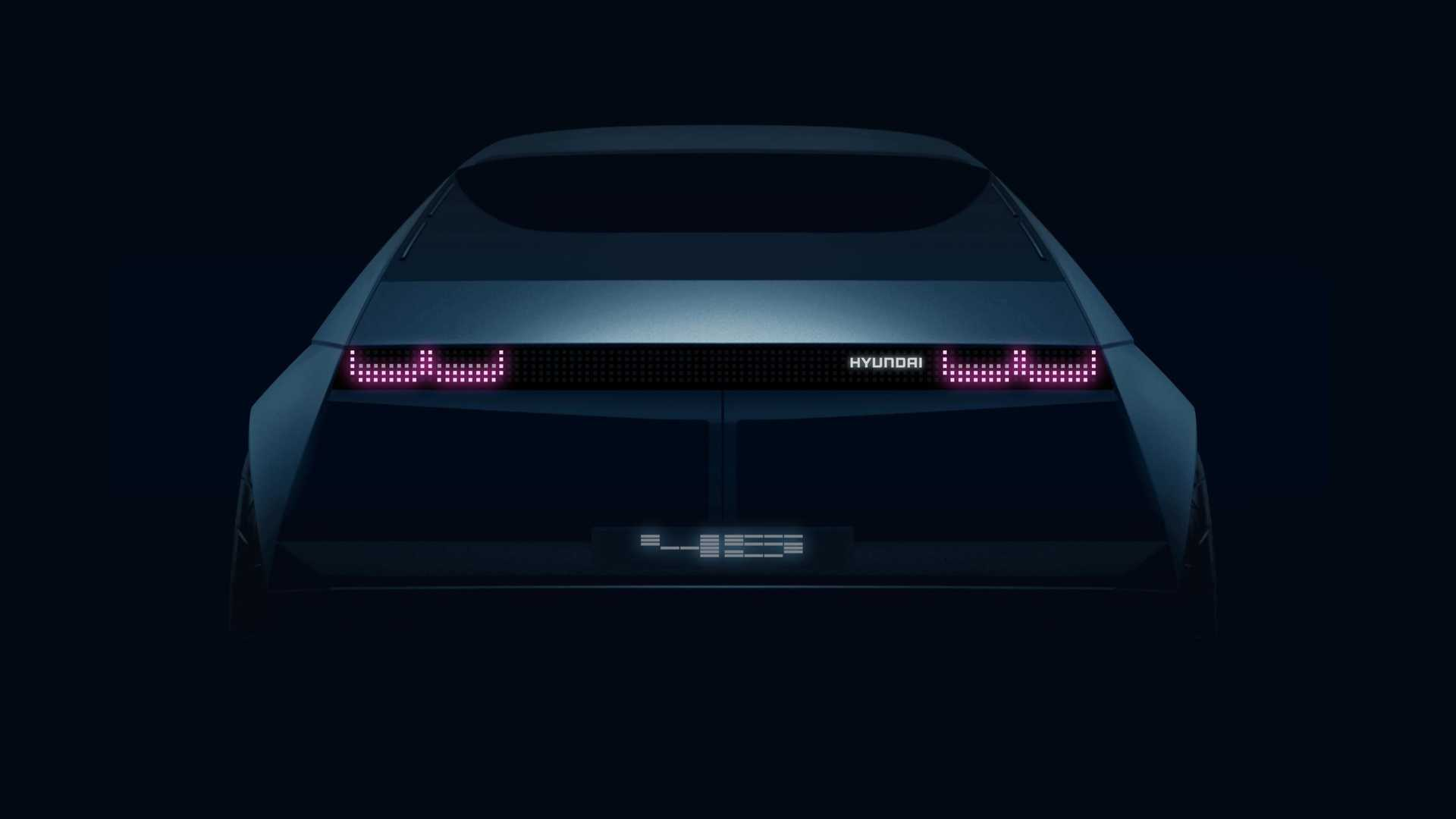 Hyundai Teases 1970's-Inspired『45』 Electric Concept Ahead Of Reveal