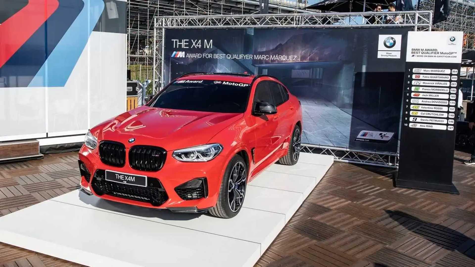 Marc Marquez, BMW X4 M Competition