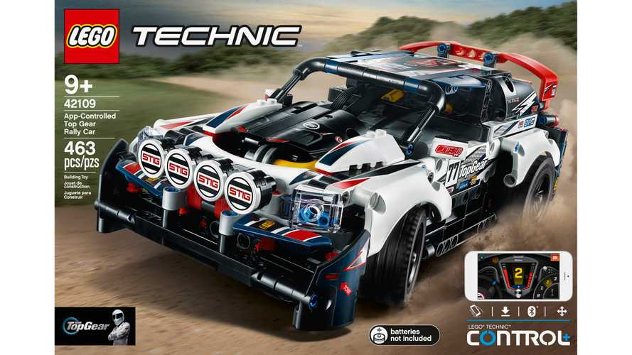 Top Gear Lego Technic: el coche de rallies