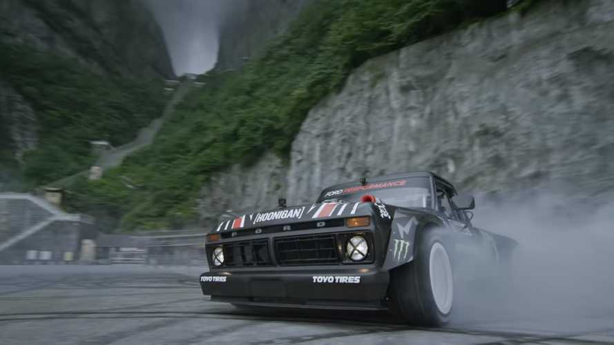 Ken Block Climbkhana Two video hoons Heaven's Gate with no fear