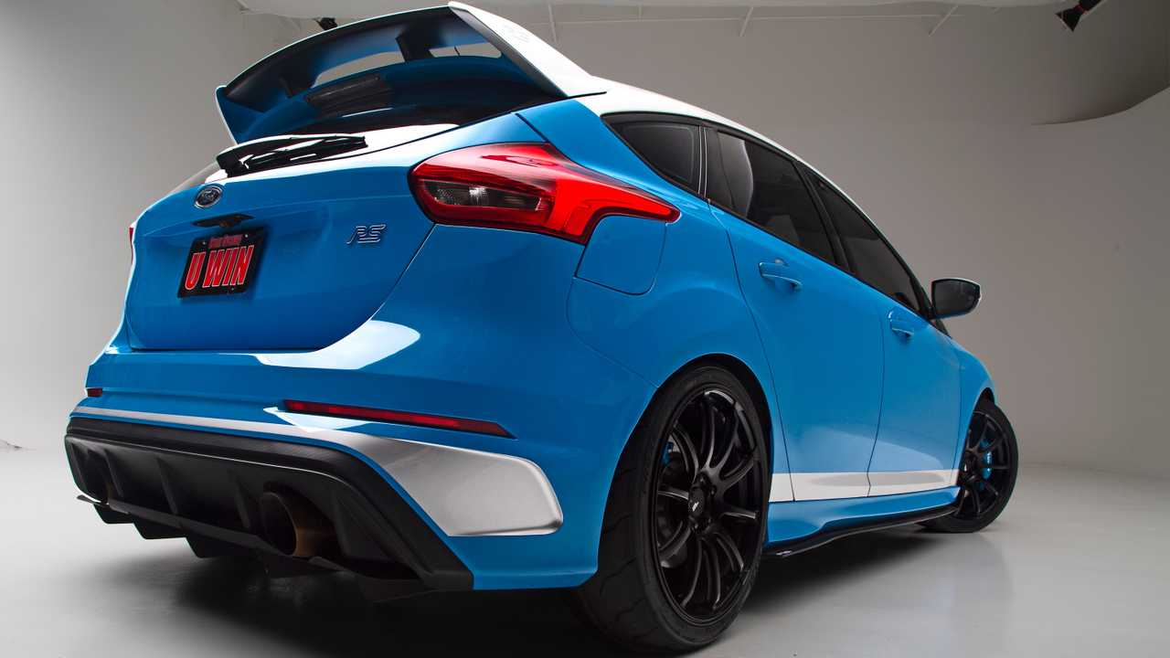 Кастомный Ford Focus RS 2017 от Dream Giveaway