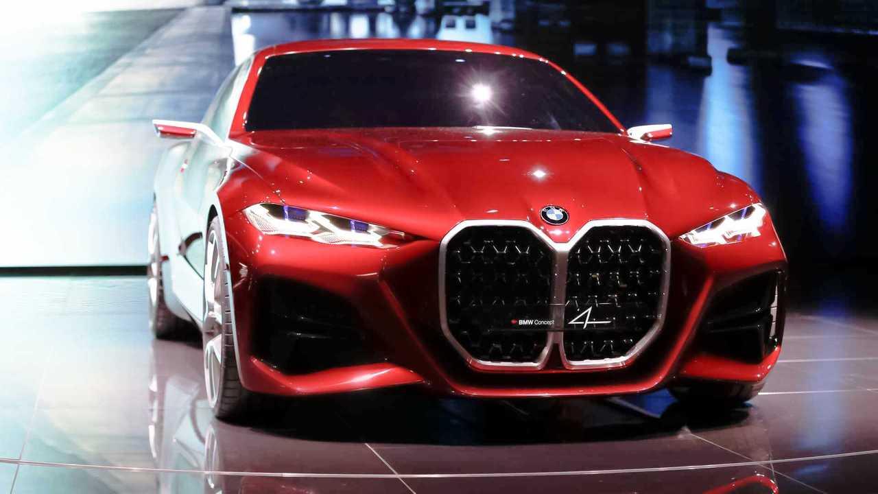 Copertina live BMW concept 4
